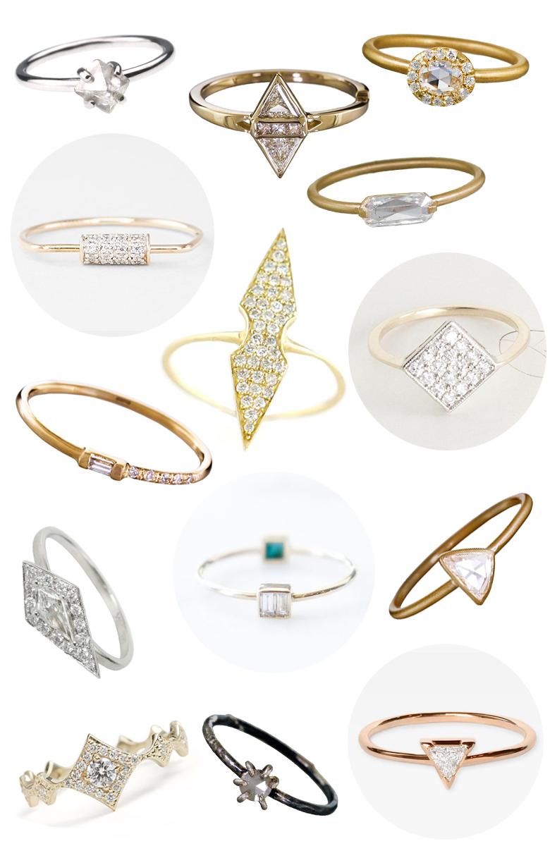 50 Beautiful Small Diamond Engagement Rings