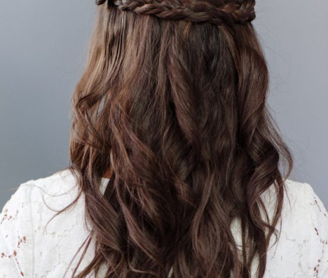 Simple Half Up Half Down Bridesmaid Hairstyle How To