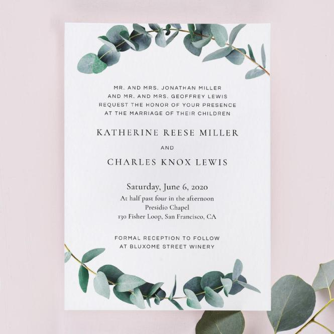 Wedding Invitation Wording Examples In