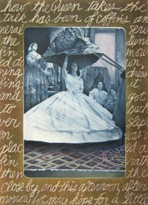 Confessions of a Victorian Lawn Party, 1982; Photo emulsion monotype; Image 30 x 22 inches