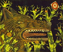 Dog's Desire, 1993; Intaglio; Image: 18 x 20 inches
