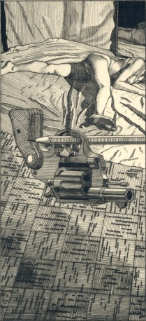 Evidence, 1998; Engraving on plexiglass; Image: 14 x 9 3/4 inches