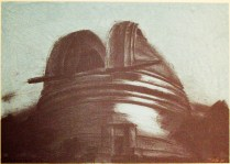 Observatory, 2003; Lithograph; Image: 14 x 19 inches