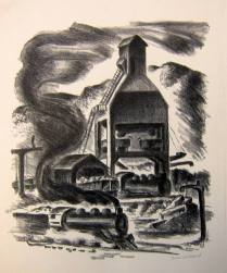 Untitled, nd; Lithograph; Image: 17 1/2 x 13 inches