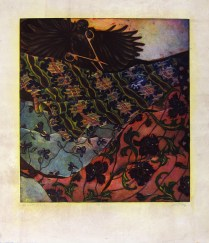 To Cut Fabric, 1993; Etching; Image: 19 3/4 x 17 3/4 inches