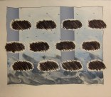 Where the Clouds Began, 1978; Lithograph; Image: 660 mm x 605 mm