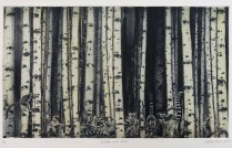 Watch and Wait, 2015; Photogravure; Image size: 506 x 302