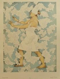 Blind Faith, 2013; Lithograph; Image Size: 432 x 330