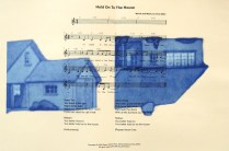 Hold on to the House, from Bottom of World, 2013; Lithograph; Image size: Recto: 522 x Recto: 810 mm