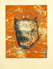 Thug Dog, 2007; Lithograph; Image size: 557 x 432 mm