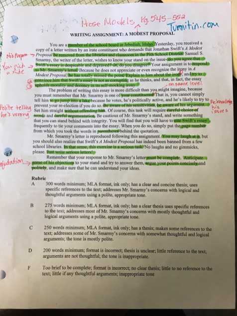 Argumentative Essay Examples For High School Modern Modest Proposal Essays Apptiled Com Unique App Finder Engine Latest  Reviews Market News A Modest Cause And Effect Essay Papers also Thesis Statement Essay Example Professional Resume Writing Services Canberra Cheap Scholarship  English Example Essay