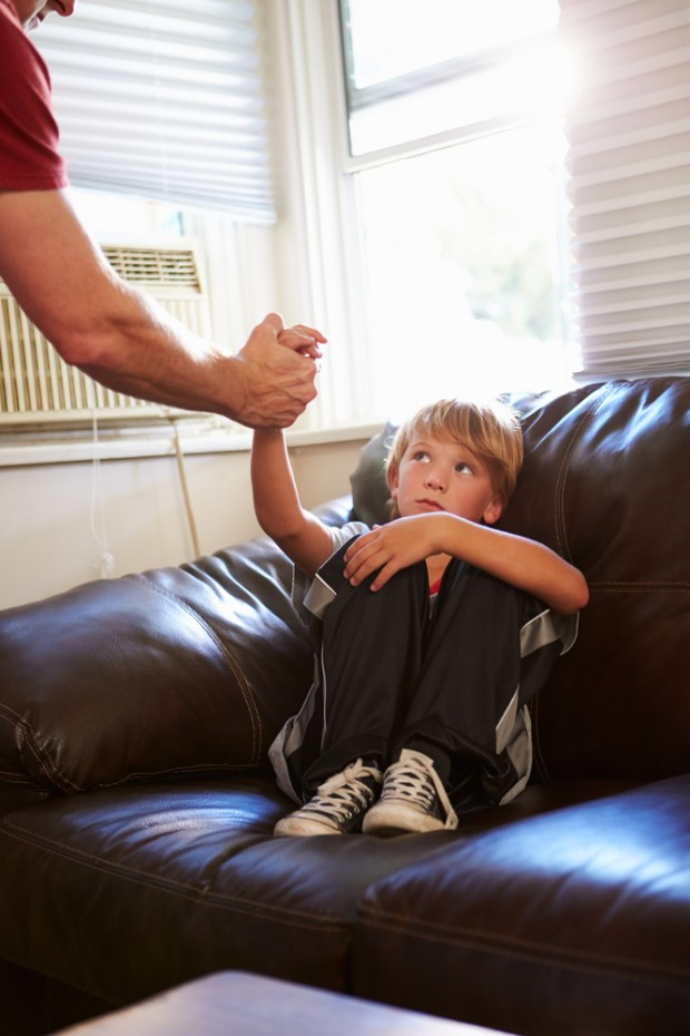 Concept Image To Illustrate Child Abuse