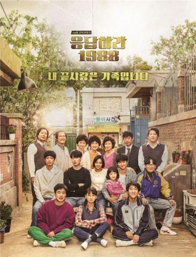 Cartel de la serie de 1988 Coreana