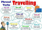 Phrasal verbs (about travelling)