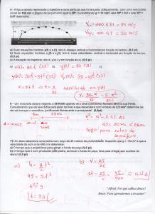 Pg2 - Gabarito Prova de Apoio - 2º ano - cinemática