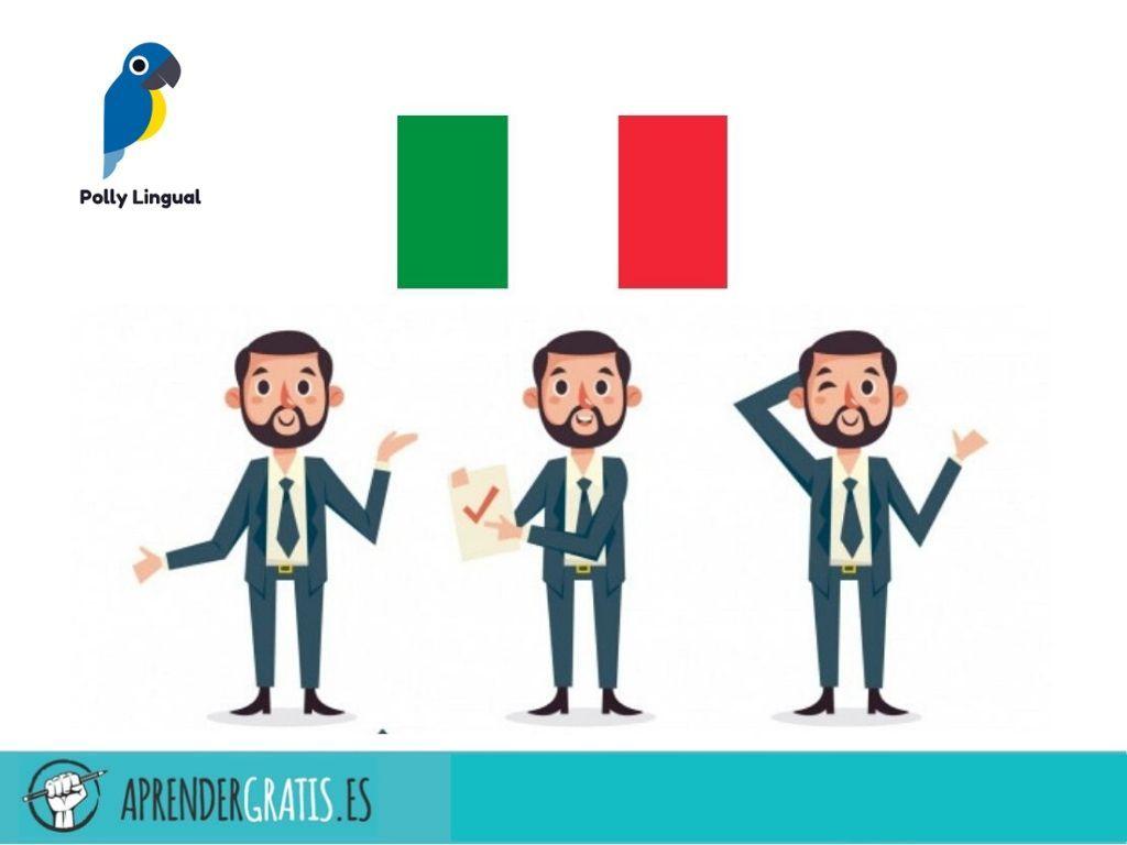 Aprender Gratis   Curso de italiano para negocios