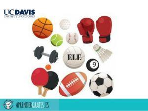 Aprender Gratis   Curso sobre vocabulario español para deportes