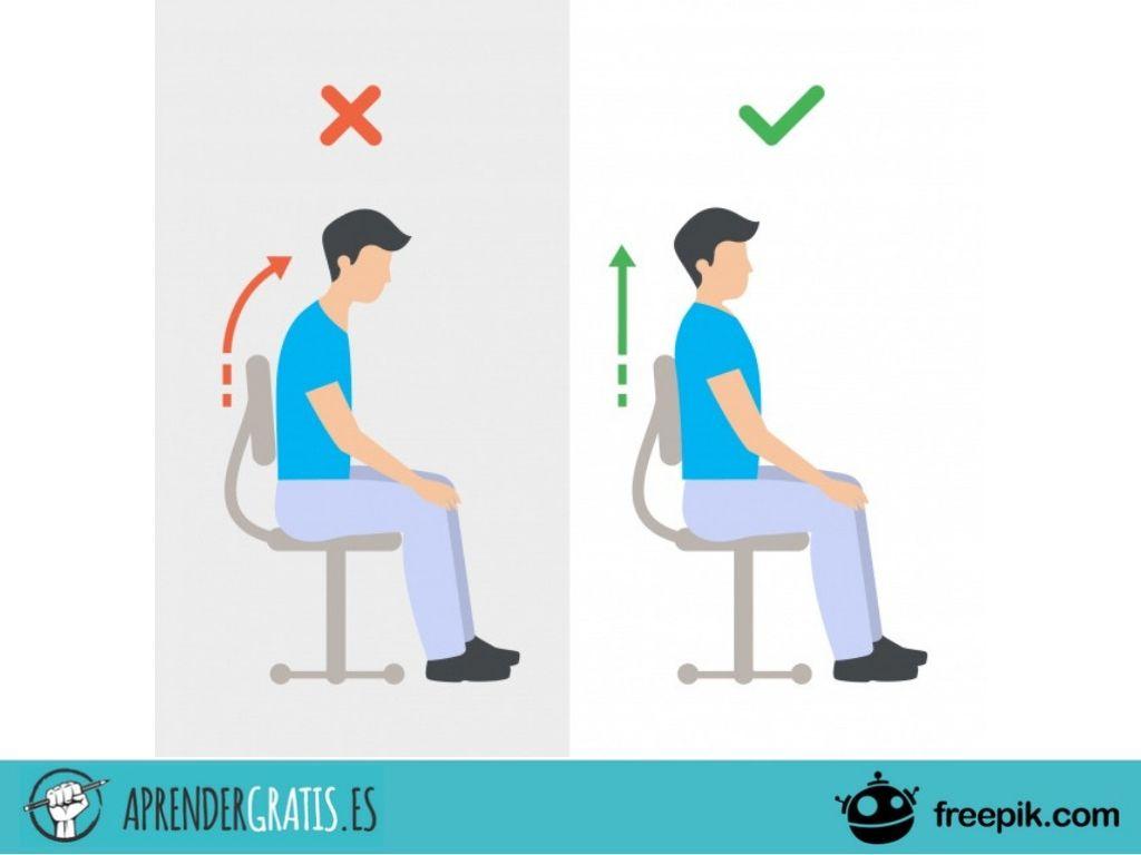 Curso para mejorar la postura corporal