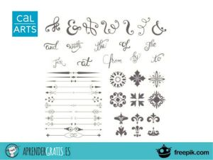Aprender Gratis | Curso sobre tipografía