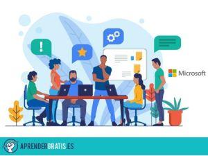 Aprender Gratis | Curso para crear equipos y entornos participativos con Microsoft