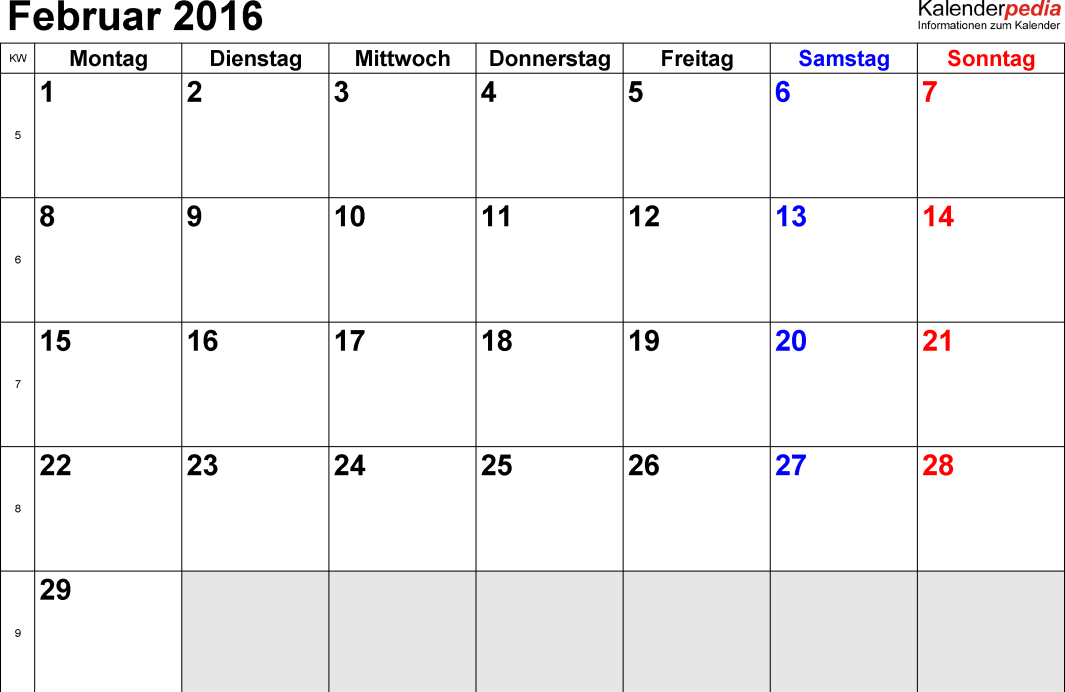 febrero-2016-kalender