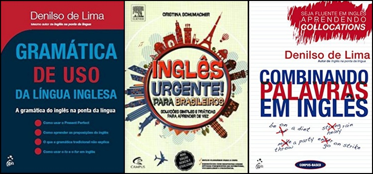 livros estudar inglês aprender