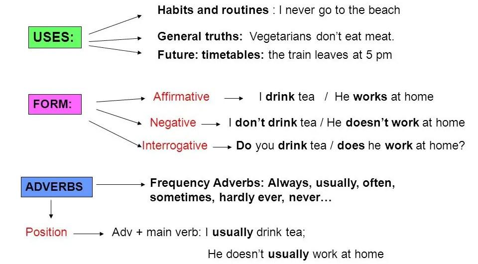 Simple Present no Inglês? Regras e Exemplos - Aprender Palavras