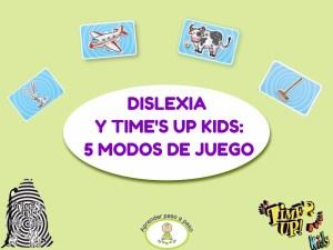 Portada Dislexia y Time´s up kids