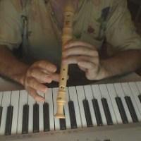 Flauta:  notas de  las mañanitas