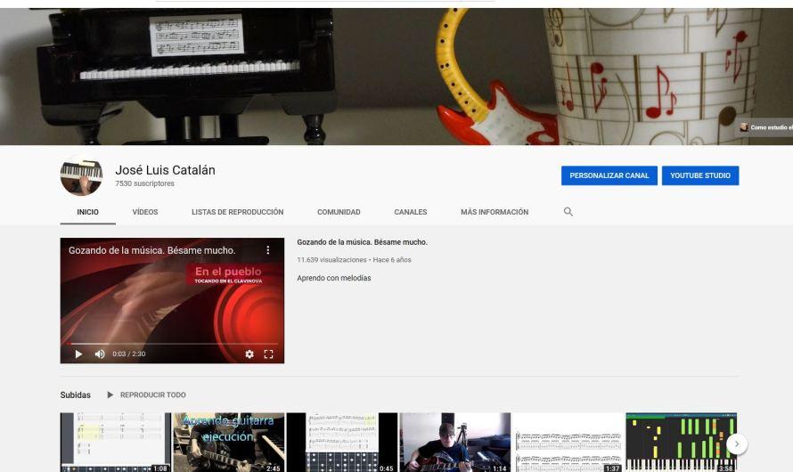 Videos para la página. Mi canal.