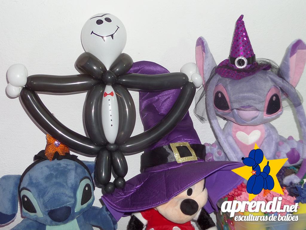 aprendinet-esculturas-de-baloes-halloween-vampiro-02