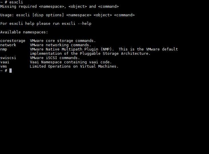 Configurar red, hostname, dns , dominio de host ESXI con ESXCLI