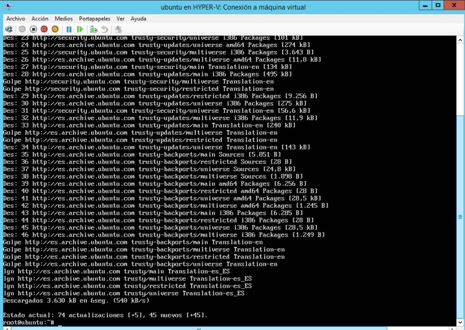 Convertir Virtual Machine de VMware a Hyper-v