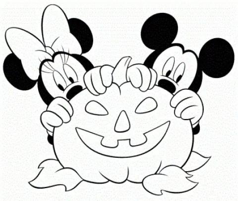 dibujos de calabazas halloween para colorear (12)