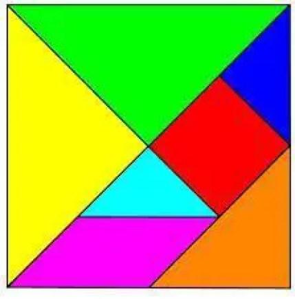 plantilla tangram