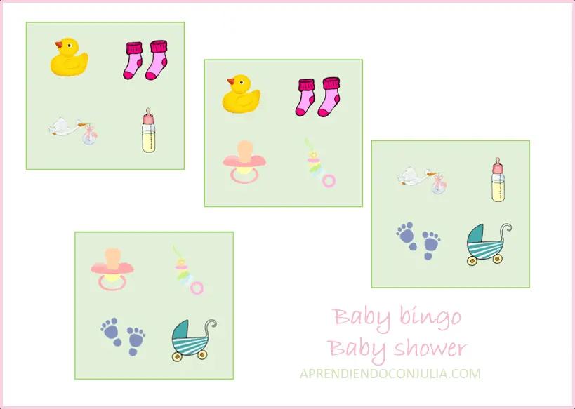 Juegos Para Baby Shower Para Imprimir Gratis