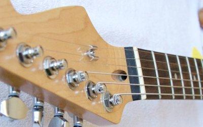 El mástil de la guitarra explicado.