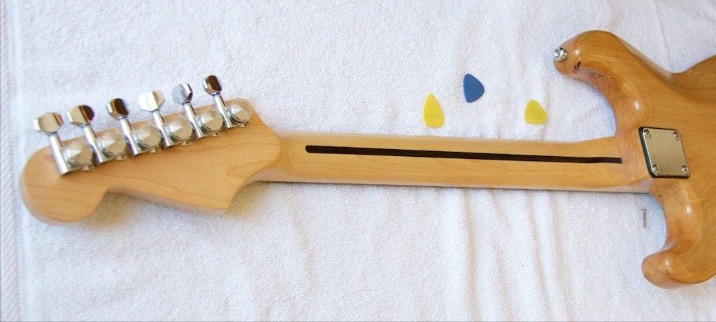 El mástil de la guitarra explicado (parte II)