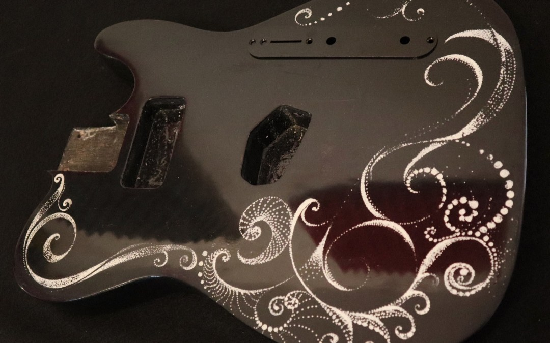 Cómo lacar con nitrocelulosa una guitarra eléctrica
