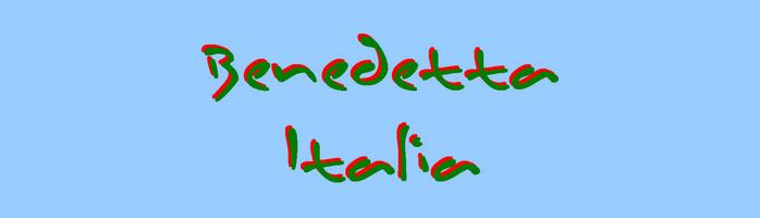 Benedetta Italia