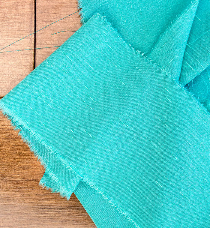 Weaving With Fabric: An Easy Way To Add Texture To Your Wall