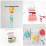 10 DIY Mini Weavings - featured image