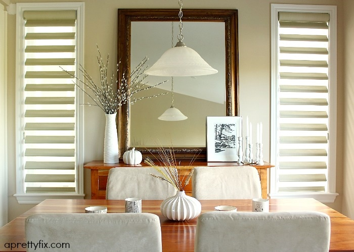 2015 fall home tour - dining space