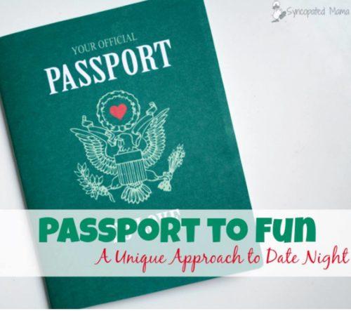 passport to fun - date night