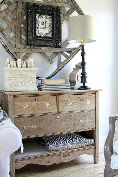DIY Unfinished Natural Wood Dresser