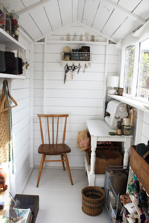 Craft Room Dreams - modern rustic