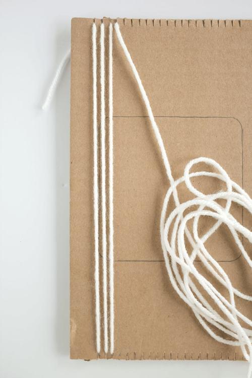 Woven Coaster Craft - Create Warp