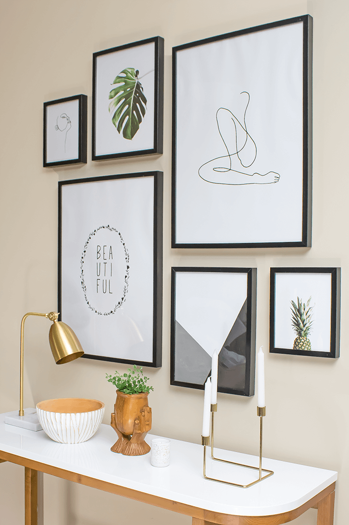 The Modern Minimalist Gallery Wall Guide For Beginners A Pretty Fix