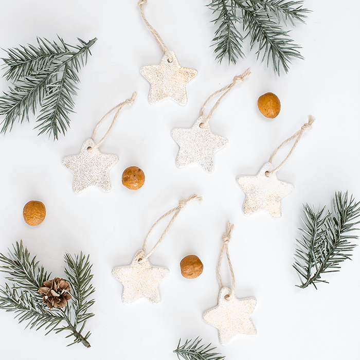 Air Dry Clay Christmas Ornaments 5 Different Ways (& A Craft Blog ...