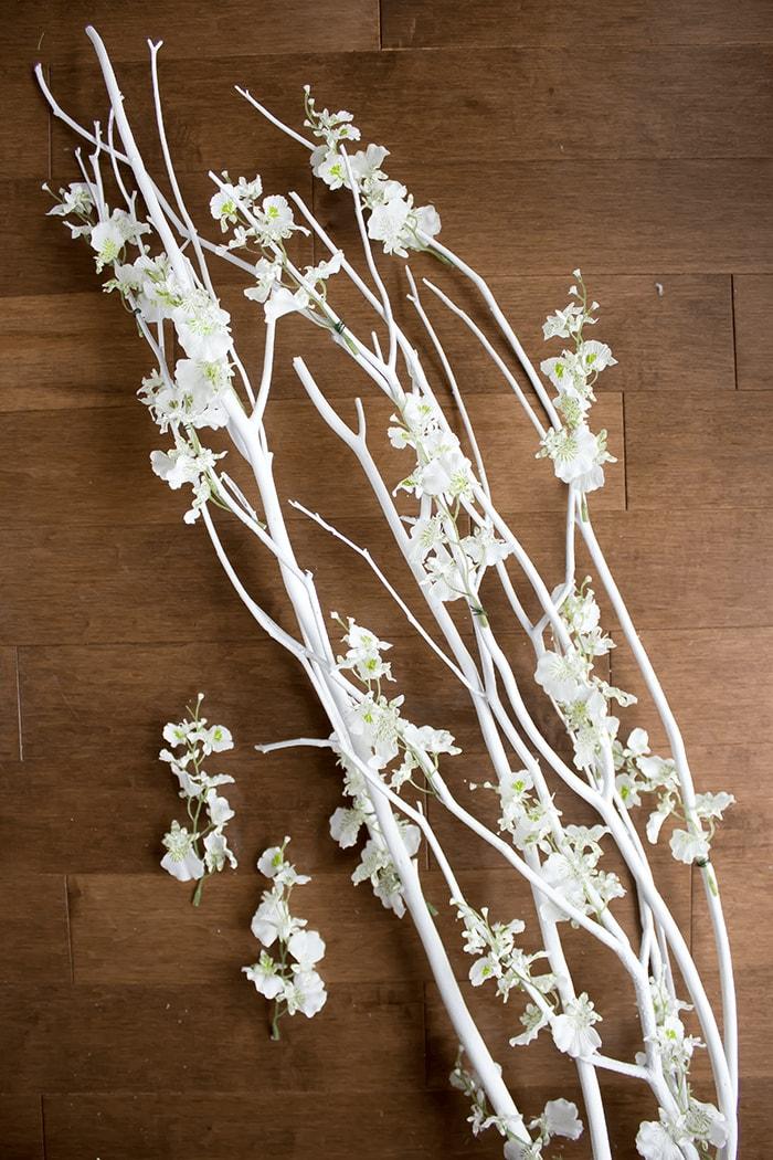 DIY Scandi-Inspired Blossoms Branch